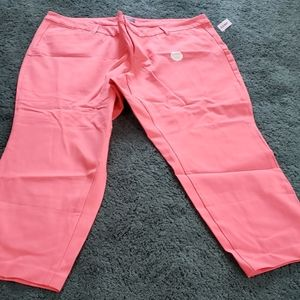NWT Womens cropped plus size pixie pants